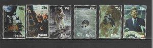 PALAU #942a-f  2008  SPACE EXPLORATION    MINT VF NH O.G