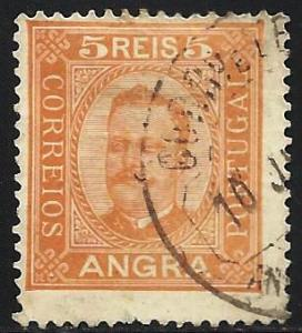 Angra 1892-1893 Scott # 1 Used
