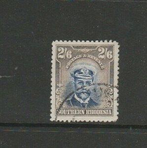 Southern Rhodesia 1924/9 Admiral 2/6 FU SG 13