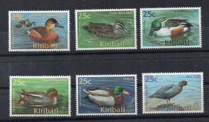 KIRIBATI - 2001 - BIRDS - DUCKS -