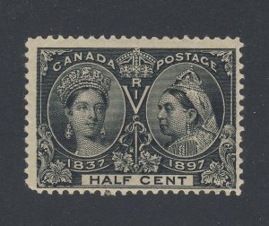 Canada Victoria Jubilee 1/2c MNH Stamp #50-1/2c F+ GC Guide Value = $75.00