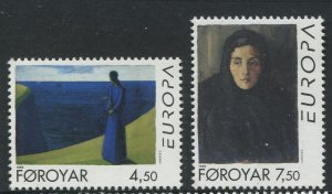 STAMP STATION PERTH Faroe Is.#302-303 Pictorial Definitive Iss.MNH 1996 CV$4.00