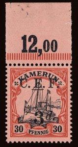 Cameroons Scott 58b Gibbons 6b Never Hinged Stamp