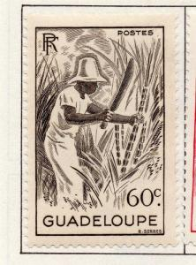 Guadeloupe 1947 Early Issue Fine Mint Hinged 60c. 151882