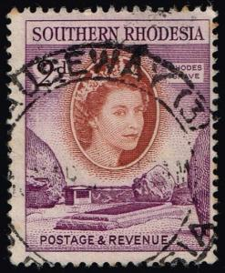 Southern Rhodesia #83 Rhodes' Grave; Used (0.25)
