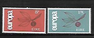 IRELAND, 204-205, HINGE REMNANT,  EUROPA