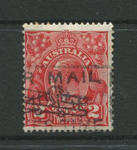 Australia  #71 Used 1930  Single 2p Stamp