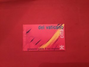 Vatican cancelled  unused Stamp Booklet R36699