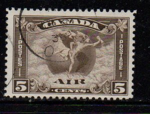 Canada Sc C2 1930 5 c Airmail stamp used