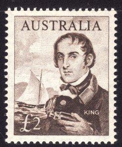 1963-1965 Australia 2£ single MNH Sc# 379 CV $97.50