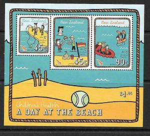 NEW ZEALAND SGMS2740 2004 CHILDRENS HEALTH  MNH