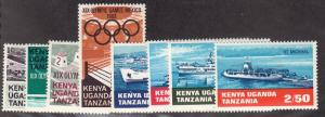 Kenya-Uganda-Tanzania - 1968-69 - SC 189-95 - LH - 2 Complete sets