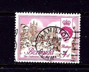 Bermuda 178 Used 1962 issue