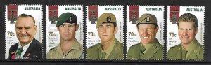 2015   AUSTRALIA  -  SG. 4304 / 4308  -  LEGENDS - VICTORIA CROSS - UMM