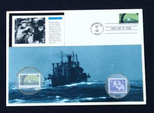 U.S. STAMP Sc# 2959f & Germany Sc# B260 MNH on  Extra Large Custom FDC