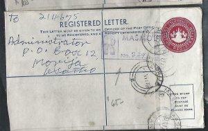 LESOTHO  (PP0609B)  1976  10C   RLE+ 3 1/2CX6 MASMOUS TO MORIJA