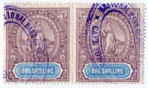 (I.B) Cape of Good Hope Revenue : Stamp Duty 1/-