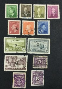 MOMEN: CANADA SG # USED £ LOT #7097