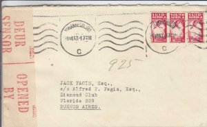 1943, Johannesburg, South Africa, Censored, See Remark (C3249)