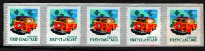 US  3522 MNH WOODY WAGON STRIP OF 5