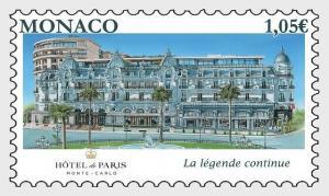 H01 Monaco 2019  Re-Opening of the Hotel de Paris  MNH Postfrisch