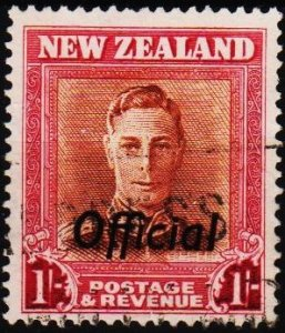 New Zealand. 1938 1s(Official) S.G.O157a  Fine Used