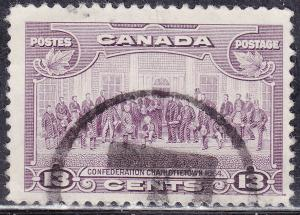 Canada 224 USED 1935 King George V Pictorial, Charlottetown