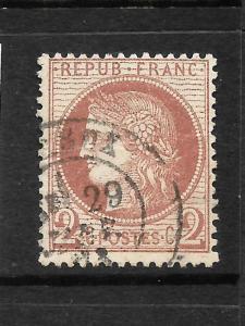 FRANCE 1871-76  2c   CERES   FU    SG 187