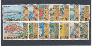 KIRIBATI (MM38) # 327-340 VF-MNH  VARc  VARIOUS SCENIC STAMPS SET # 2