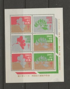 Japan Cinderella seal TB Charity revenue stamp 5-03-6 mint