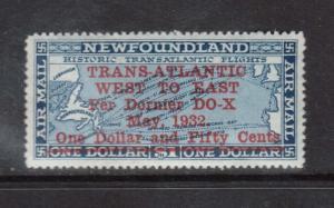 Newfoundland #C12 XF/NH Gem