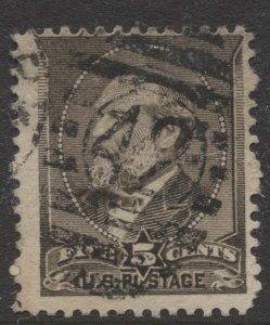 STAMP STATION PERTH US  #205 Used