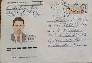 O) 1966 CUBA, CARIBBEAN, RAFAEL FREYRE TORRES, MARTIR DEL MONCADA, JOSE MARTI,
