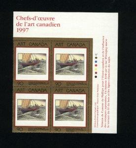 Canada #1635 Mint PB VF NH  1997 PD  5.50