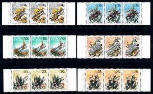[66911] Namibia SWA 1978 Flora Flowers Blumen With Overprint 3 Languages MNH