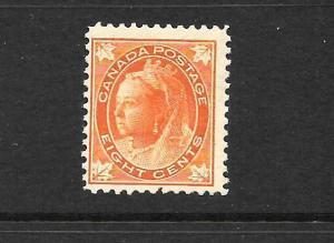 CANADA 1897-98  8c   QV    MNH    Sc 72