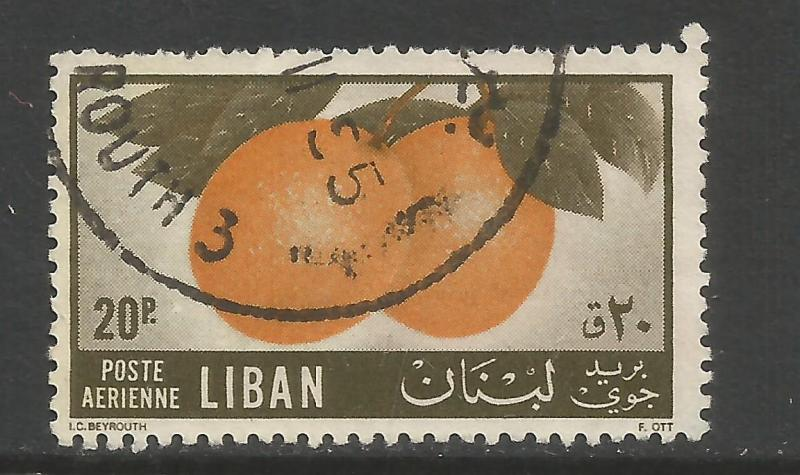 LEBANON C214 VFU FRUITS Z2339-1