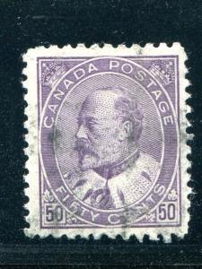 Canada #95 Used almost VF