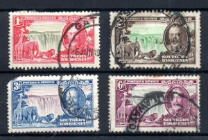 Southern Rhodesia 1935 Silver Jubilee used set SG31-34 WS18726