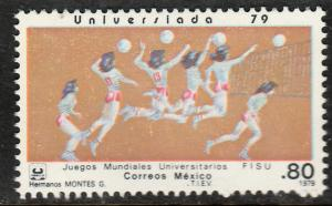 MEXICO 1187, Women's Volleyball University Games. MINT, NH, F-VF.