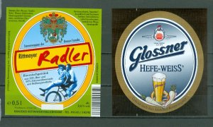 BEER LABELS...6 NICE AND CLEAN (GERMANY ?)