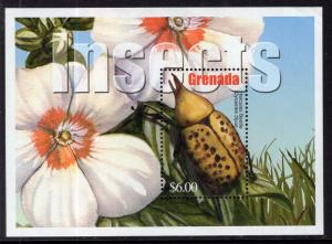 Grenada 3299 Insects Souvenir Sheet MNH VF