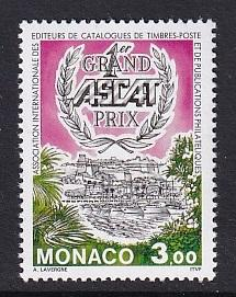 Monaco  #1912    MNH  1994 stamp cataloque editors