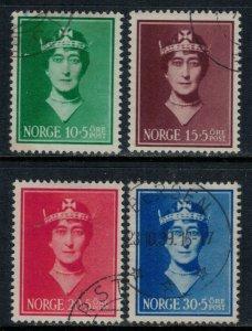 Norway #B11-4  CV $39.50  Queen Maud