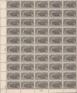 US Stamp - 1925 20c Special Delivery Truck - Perf 11 50 Stamp Sheet MNH #E14