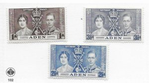 Aden #13 Used - Stamp CAT VALUE $1.25