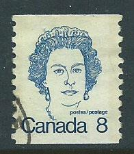 Canada SG 710  coil stamp  Used