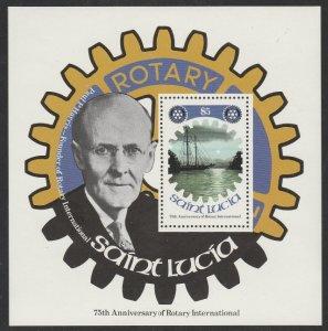 St Lucia #425 MNH Souvenir Sheet
