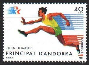 Andorra. 1984. 177. Running, sports. MLH.