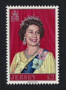 Jersey Queen Elizabeth II 1v ?2 SG#155
